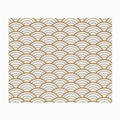 Gold,white,art Deco,vintage,shell Pattern,asian Pattern,elegant,chic,beautiful Small Glasses Cloth