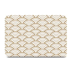 Gold,white,art Deco,vintage,shell Pattern,asian Pattern,elegant,chic,beautiful Plate Mats