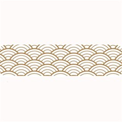 Gold,white,art Deco,vintage,shell Pattern,asian Pattern,elegant,chic,beautiful Large Bar Mats