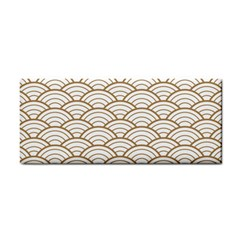 Gold,white,art Deco,vintage,shell Pattern,asian Pattern,elegant,chic,beautiful Cosmetic Storage Cases
