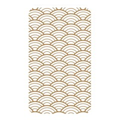Gold,white,art Deco,vintage,shell Pattern,asian Pattern,elegant,chic,beautiful Memory Card Reader
