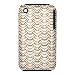 Gold,white,art Deco,vintage,shell Pattern,asian Pattern,elegant,chic,beautiful Iphone 3s/3gs