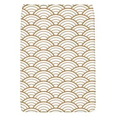 Gold,white,art Deco,vintage,shell Pattern,asian Pattern,elegant,chic,beautiful Flap Covers (s)