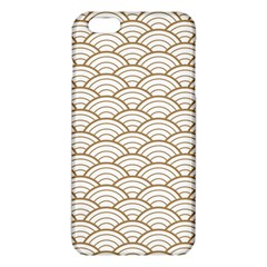 Gold,white,art Deco,vintage,shell Pattern,asian Pattern,elegant,chic,beautiful Iphone 6 Plus/6s Plus Tpu Case