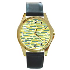 Fast Capsules 2 Round Gold Metal Watch