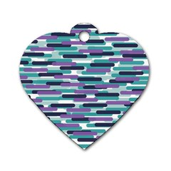 Fast Capsules 3 Dog Tag Heart (two Sides)