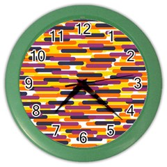 Fast Capsules 4 Color Wall Clocks