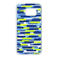 Fast Capsules 5 Samsung Galaxy S7 White Seamless Case