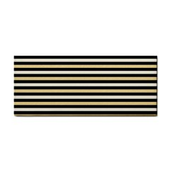Black And Gold Stripes Cosmetic Storage Cases
