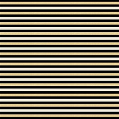 Black And Gold Stripes Magic Photo Cubes