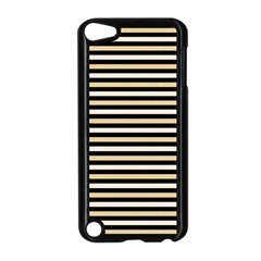 Black And Gold Stripes Apple Ipod Touch 5 Case (black)