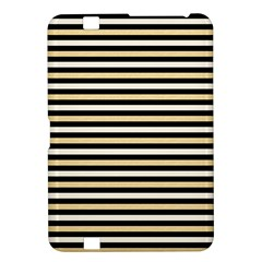 Black And Gold Stripes Kindle Fire Hd 8 9