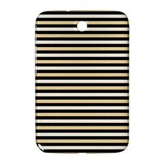 Black And Gold Stripes Samsung Galaxy Note 8 0 N5100 Hardshell Case