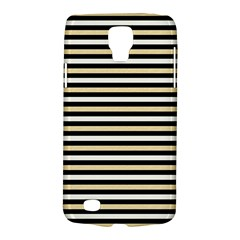 Black And Gold Stripes Galaxy S4 Active