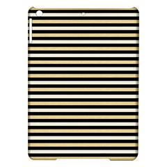 Black And Gold Stripes Ipad Air Hardshell Cases