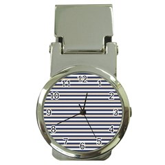Royal Gold Classic Stripes Money Clip Watches