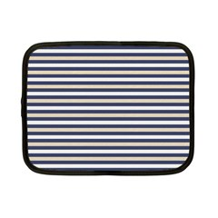 Royal Gold Classic Stripes Netbook Case (small)