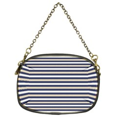 Royal Gold Classic Stripes Chain Purses (one Side)