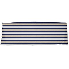 Royal Gold Classic Stripes Body Pillow Case (dakimakura)