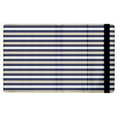 Royal Gold Classic Stripes Apple Ipad 2 Flip Case