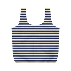 Royal Gold Classic Stripes Full Print Recycle Bags (m)