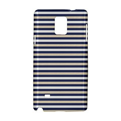 Royal Gold Classic Stripes Samsung Galaxy Note 4 Hardshell Case