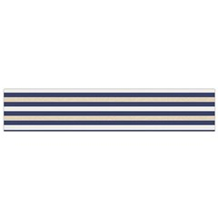Royal Gold Classic Stripes Small Flano Scarf