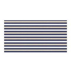 Royal Gold Classic Stripes Satin Wrap