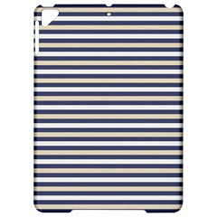 Royal Gold Classic Stripes Apple Ipad Pro 9 7   Hardshell Case