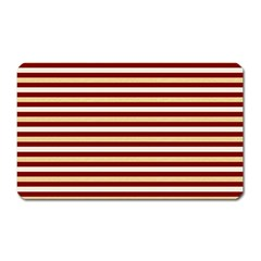 Gold And Wine Magnet (rectangular)