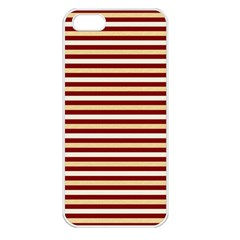 Gold And Wine Apple Iphone 5 Seamless Case (white)