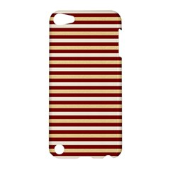 Gold And Wine Apple Ipod Touch 5 Hardshell Case