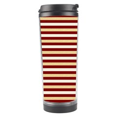 Gold And Wine Travel Tumbler