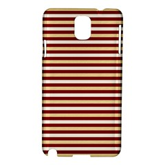 Gold And Wine Samsung Galaxy Note 3 N9005 Hardshell Case