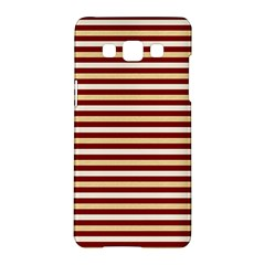 Gold And Wine Samsung Galaxy A5 Hardshell Case