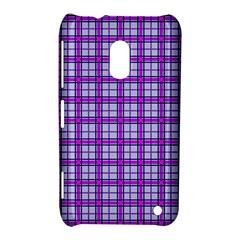 Purple Tartan Nokia Lumia 620
