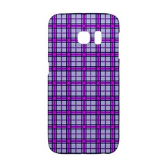 Purple Tartan Galaxy S6 Edge