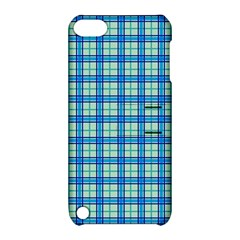 Sea Tartan Apple Ipod Touch 5 Hardshell Case With Stand
