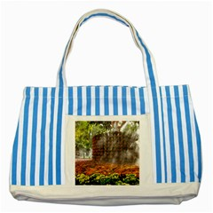 20180115 144003 Hdr Striped Blue Tote Bag