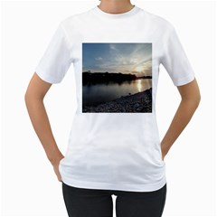 20180115 171420 Hdr Women s T Shirt (white) (two Sided)