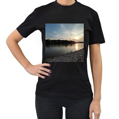 20180115 171420 Hdr Women s T Shirt (black) (two Sided)