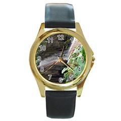 20180112 123030 Round Gold Metal Watch