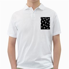 White Cross Golf Shirts