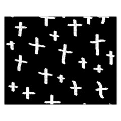 White Cross Rectangular Jigsaw Puzzl