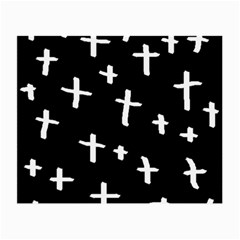 White Cross Small Glasses Cloth (2 Side)