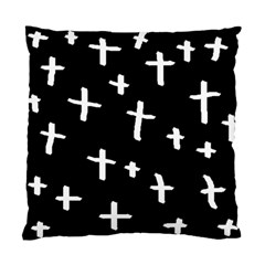 White Cross Standard Cushion Case (two Sides)