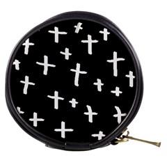 White Cross Mini Makeup Bags