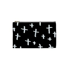 White Cross Cosmetic Bag (small)