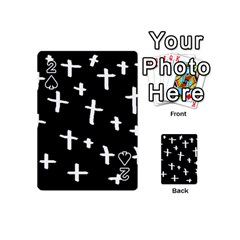 White Cross Playing Cards 54 (mini)