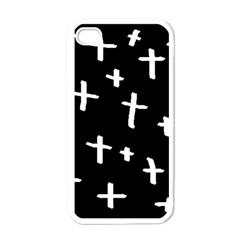 White Cross Apple Iphone 4 Case (white)